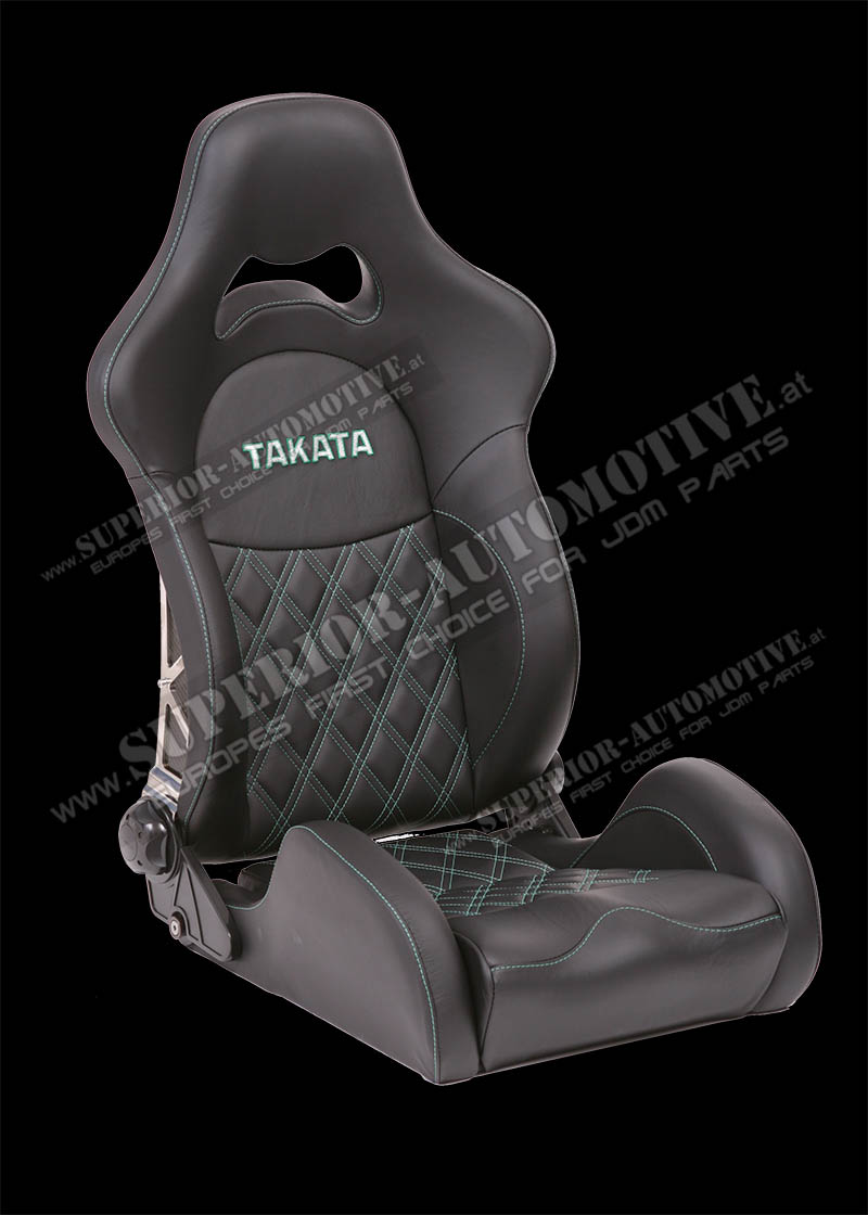 Superior Automotive Web Shop Takata Drift Pro Le Halbschalen Sportsitz Echtleder Sitzheizung