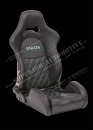 Takata Drift Pro LE Half Bucket Reclinable Racing Seat in Leather and Seat Heater