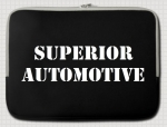 Superior Automotive Classic Style Notebook Tasche 15""