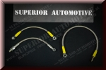 Superior Automotive T28 Turbo CA18DET Conversion Steel Flex Line Kit for Nissan 200SX S13