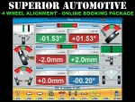 4 Wheel Alignment Online Booking Package by Superior Automotive