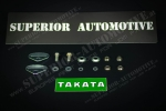 Takata 7/16 UNF Bolt In Kit for Wrap Seat Belts